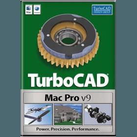 TurboCAD Pro 9.0.11 mac上优秀的CAD绘图工具