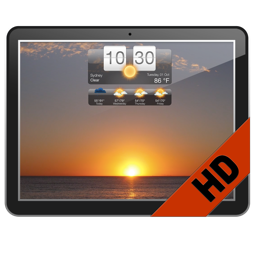 Living Weather HD 3.2.0 7天的天气预报、实时天气壁纸和屏保