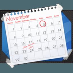 Blotter 2.2.5 炫酷的桌面日历