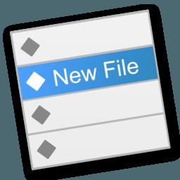 New File Menu 1.5 Finder右键创建文档利器