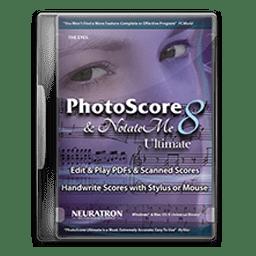 PhotoScore & NotateMe Ultimate 8.8.4 乐谱识别软件