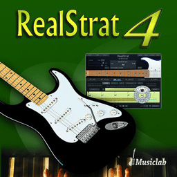MusicLab RealStrat 4.0.0.7250 电吉他音源插件