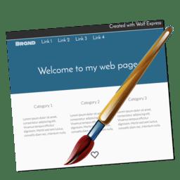 Wolf Express 1.25 网页设计应用