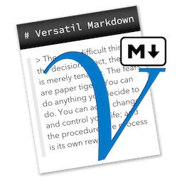 Versatil Markdown 2.0.20 文本编辑器