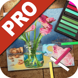 JixiPix Pastello Pro 1.1.15 铅笔、粉笔、木炭、蜡笔风格照片