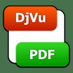 DjVu To PDF Converter 2.0 DjVu文件转PDF