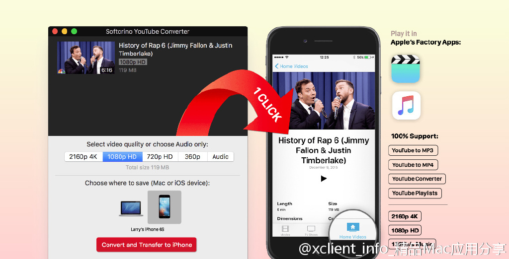 Softorino YouTube Converter 2.1.2 又一款 Youtube 视频下载工具