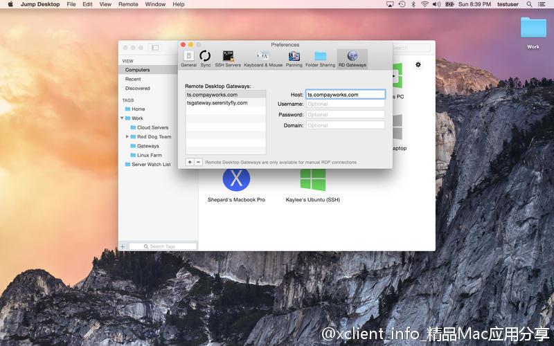 Jump Desktop 8.2.17 远程桌面