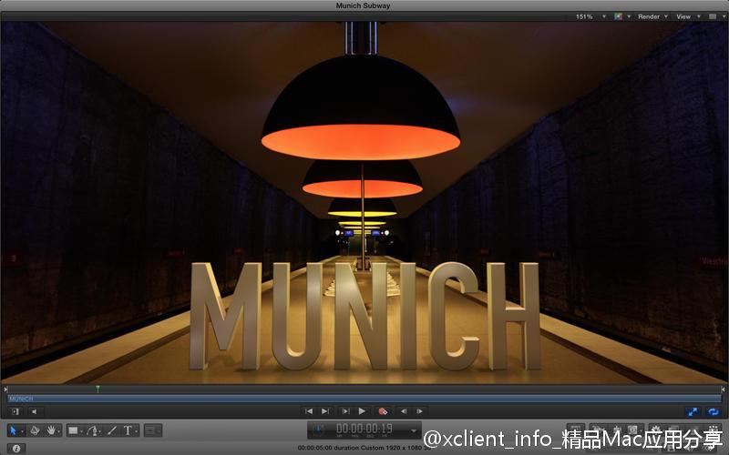 Motion 5.4.3 视频后期特效制作