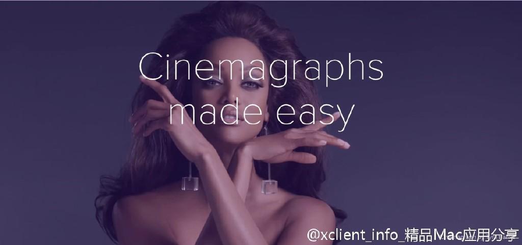 Cinemagraph Pro 2.7.1 专业的动态图片与视频制作工具