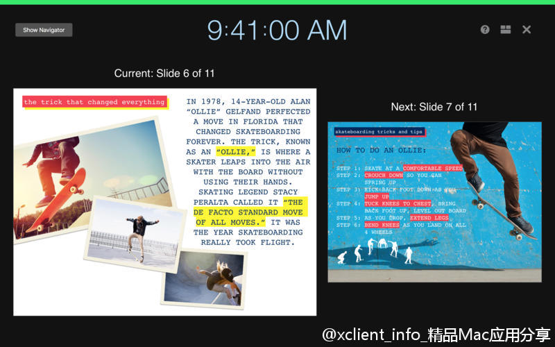Keynote 7.0.5 apple 幻灯片软件