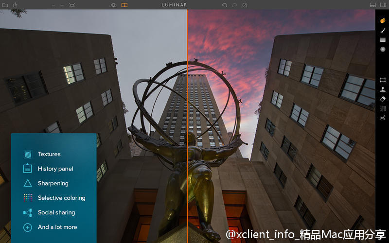 Luminar 3.0.1(2751) 图像后期编辑软件