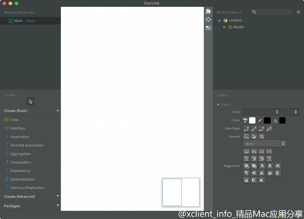 StarUML 4.0.1 强大的UML工具