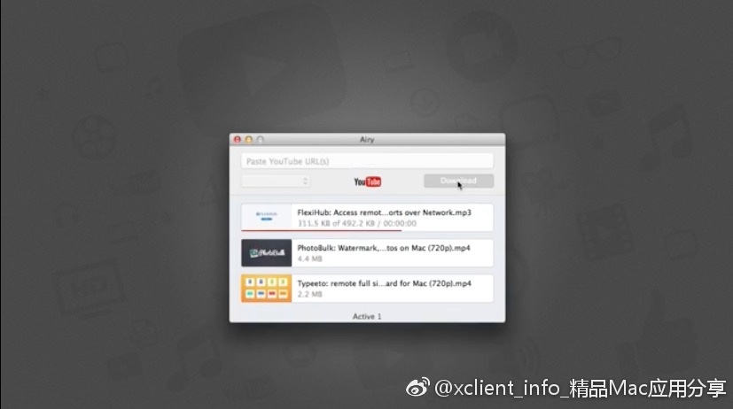 Airy 3.9.218 Youtube 视频下载工具