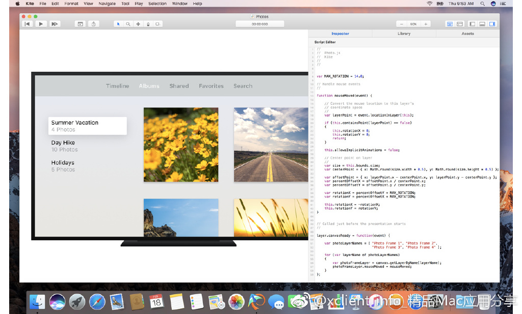 Kite Composer 1.9.6 一款MacOS和iOS动效软件