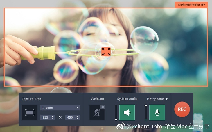 Movavi Screen Recorder 10.1.0 屏幕录像工具
