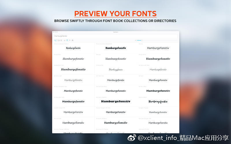 Typeface 3.1.0 字体管理