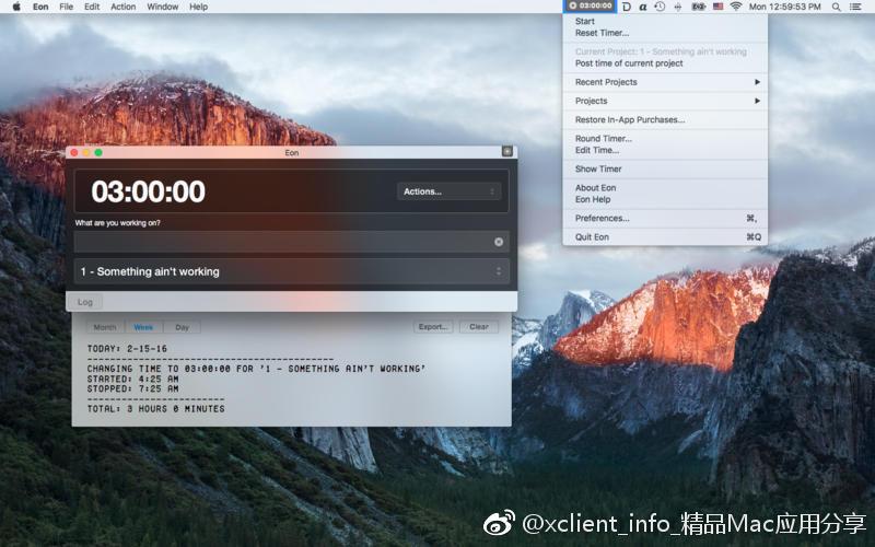 Eon 2.8.3 优秀的时间跟踪定时器