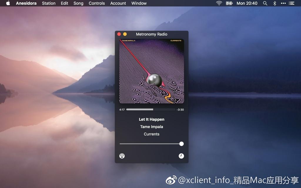 Anesidora 1.21 Pandora Radio潘多拉音乐播放器客户端