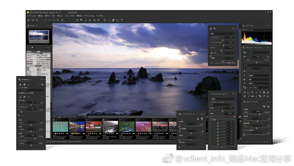 SILKYPIX Developer Studio Pro 9E 9.0.16.0 RAW格式照片处理工具