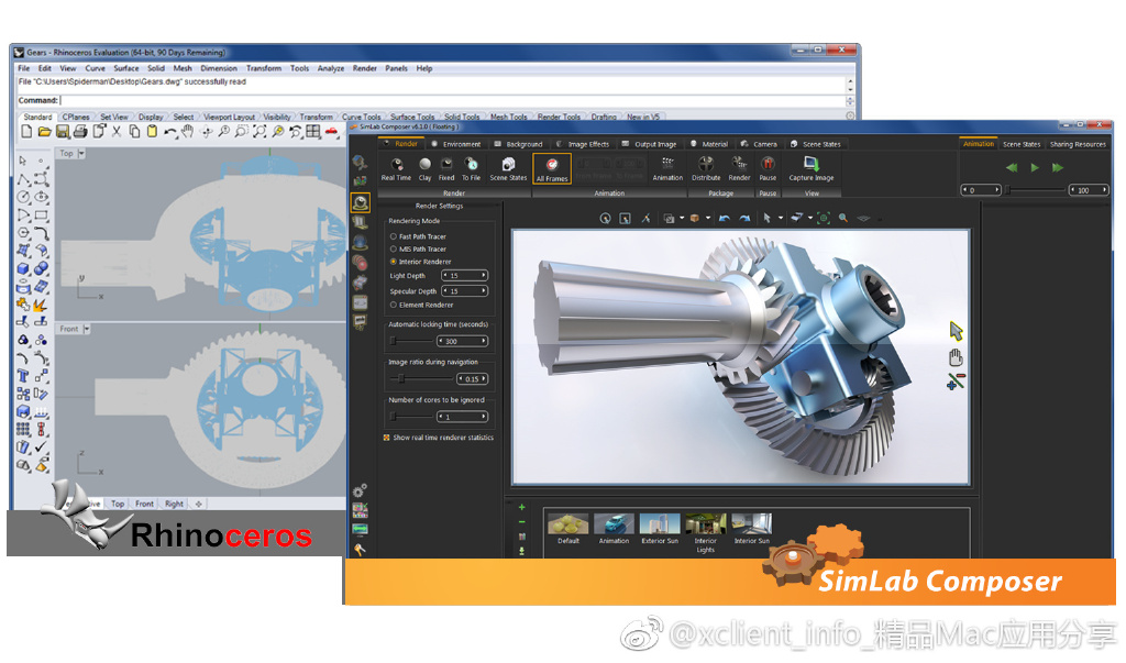 SimLab Composer 9 9.2.21 3D场景制作渲染软件