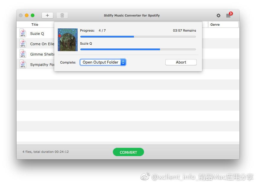 Sidify Music Converter 1.3.1 优秀的音乐转换工具