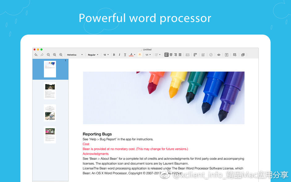 Document Writer Pro 1.6.3 PDF文档编辑器
