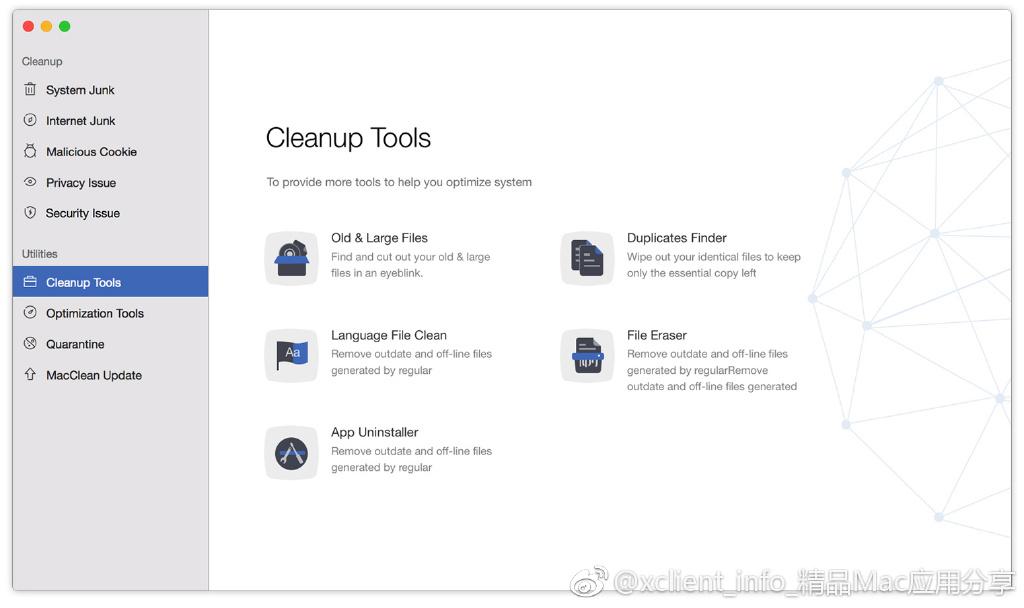MacClean 3.6 清理、优化、隐私和安全防护