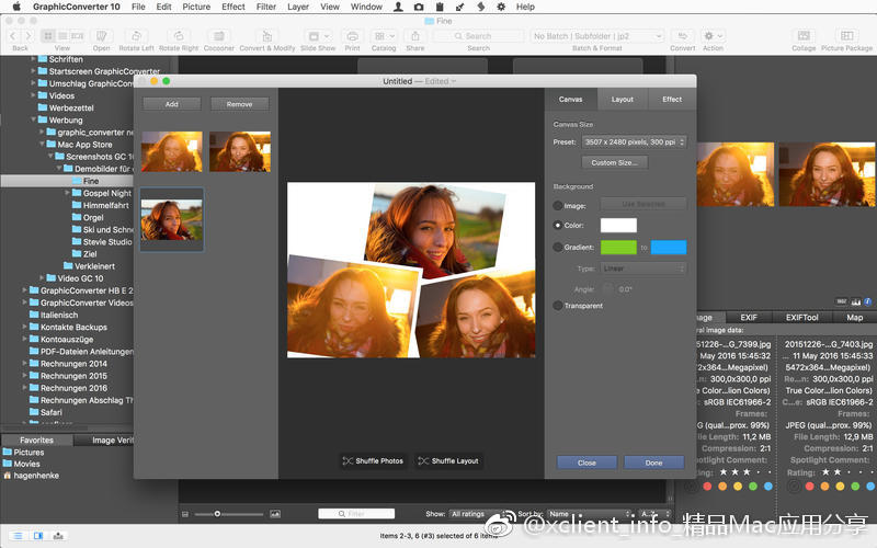 GraphicConverter 11.1.1 图片编辑浏览工具