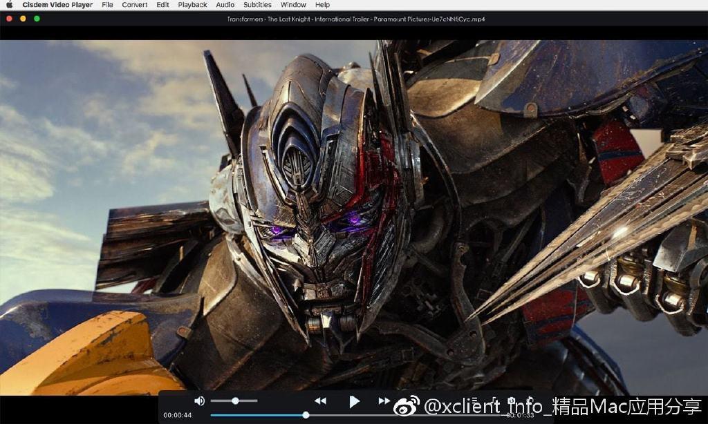 Cisdem Video Player 4.3.1 视频播放器
