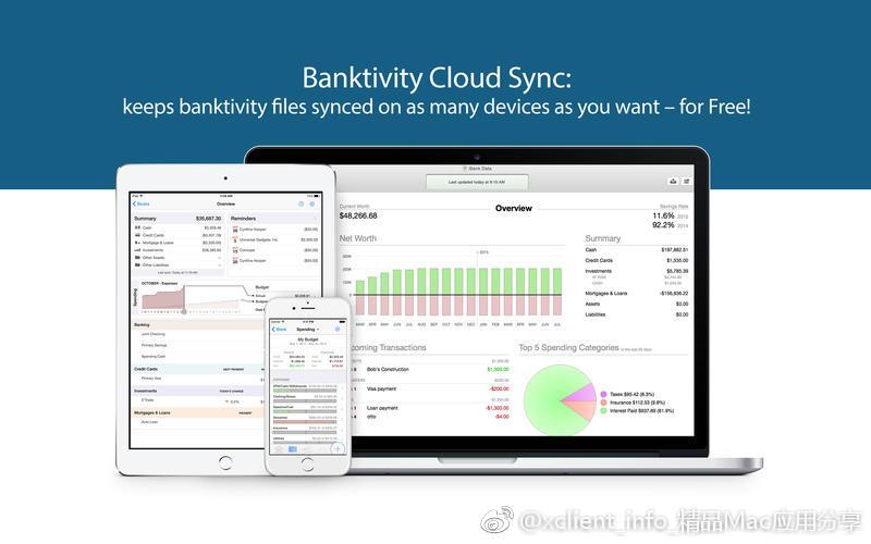 Banktivity 7.2.1 财务管理软件