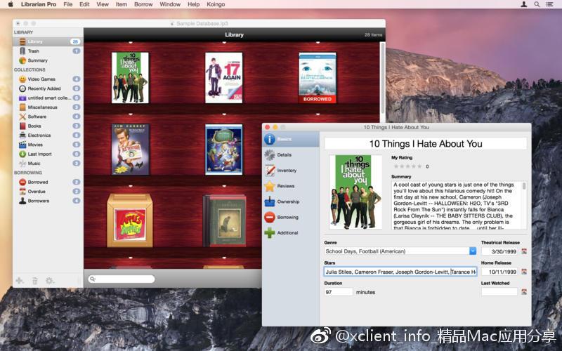 Librarian Pro 5.1.4 多媒体信息资源管理器