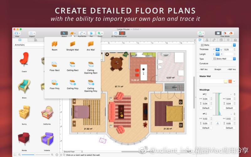 Live Home 3D 3.5.4 强大的3D室内设计工具