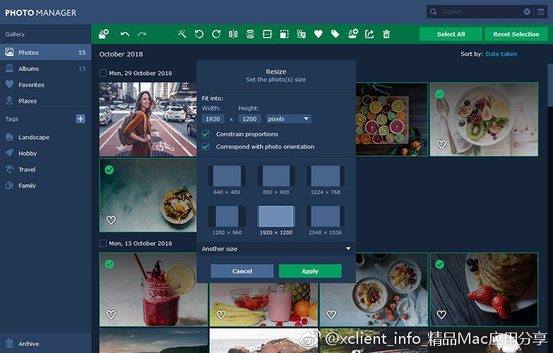 Movavi Photo Manager 1.2.0 照片管理应用