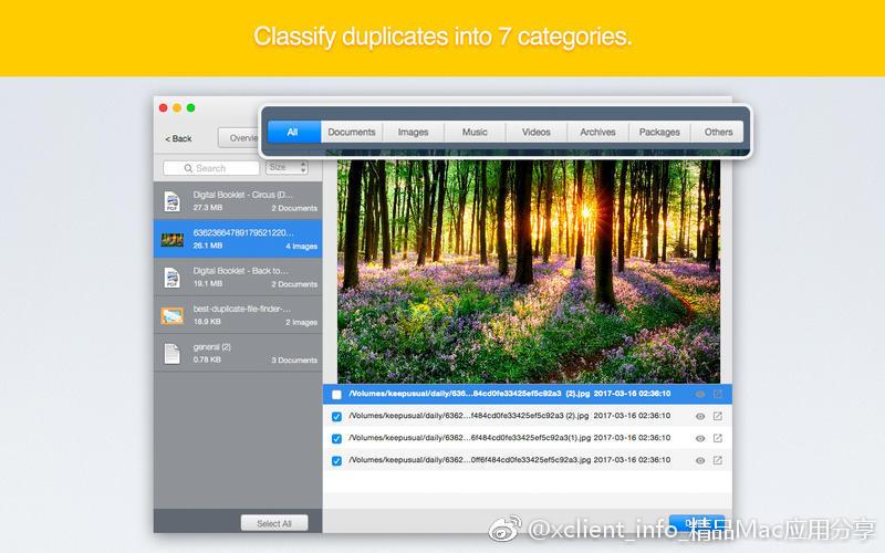 Cisdem Duplicate Finder 4.8.0 重复文件清理应用