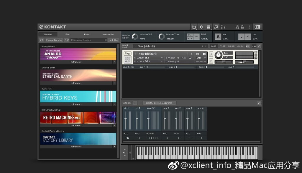 Native Instruments Kontakt 6 6.0.4 专业音频制作工具
