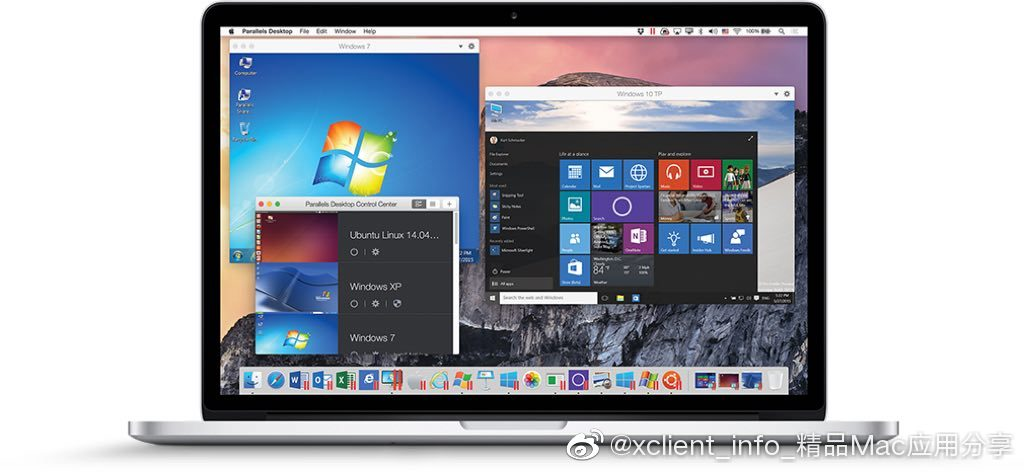 Parallels Desktop 14.1.2(45485) 最佳Mac虚拟机解决方案