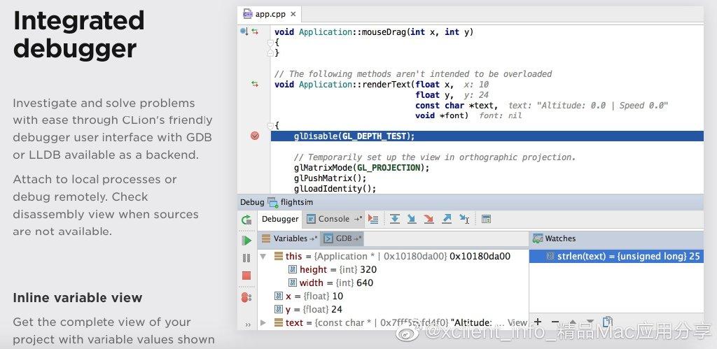 CLion 2019.1.2 JetBrains出品的强大的C/C++开发工具