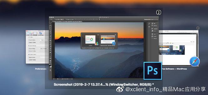 WindowSwitcher 1.1.2 快捷键窗口管理工具
