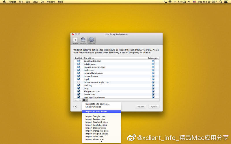 SSH Proxy 15.06.1 SSH代理