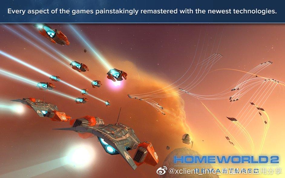 Homeworld Remastered Collection(家园 重制收藏版) 2.0.1 经典的策略模拟游戏
