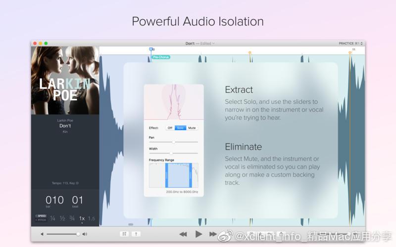 Capo 3.8.1 音乐辅助学习软件