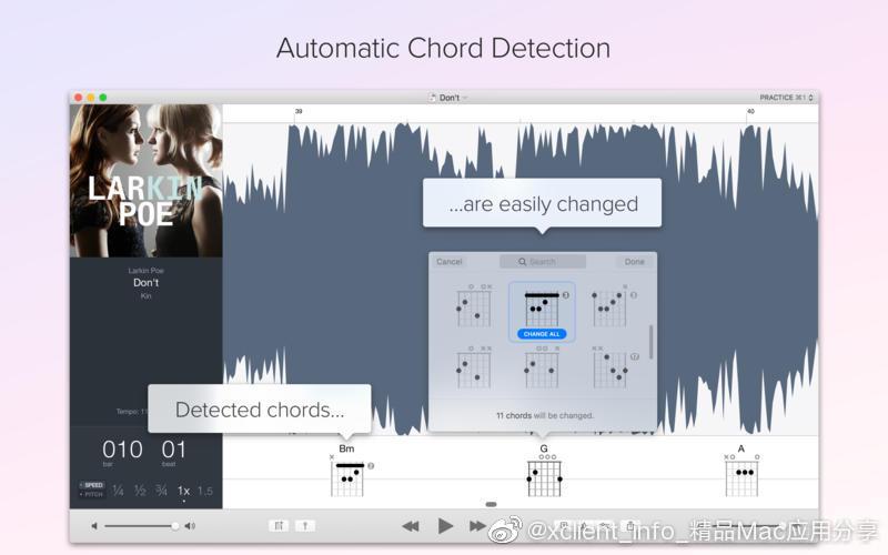 Capo 3.7.3 音乐辅助学习软件