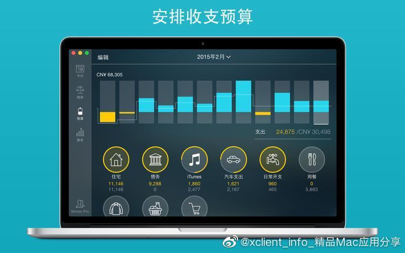 Money Pro 2.2.3 可同步账单、预算和账户