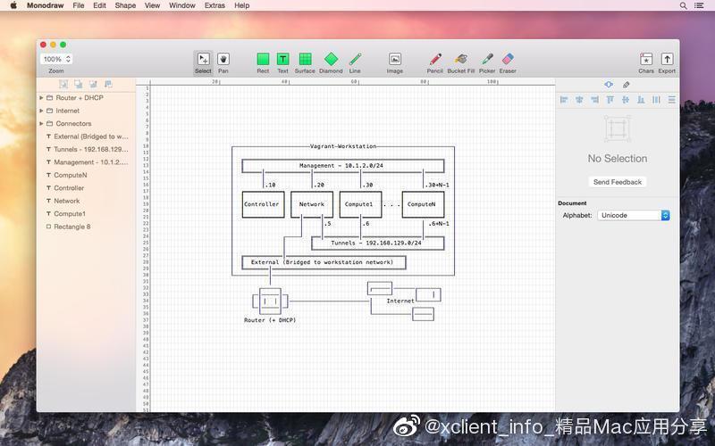 Monodraw 1.4 强大的ASCII艺术编辑器