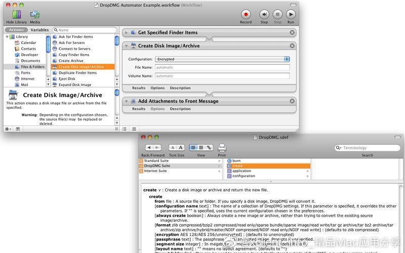 DropDMG 3.6.2 轻松制作DMG文件
