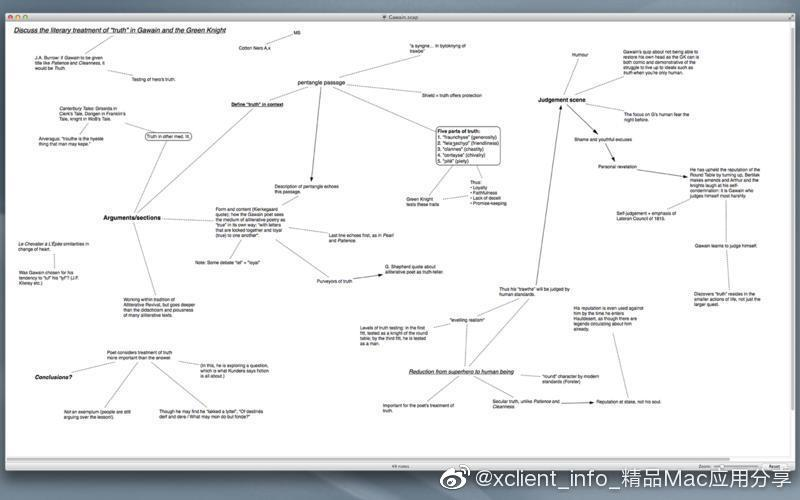Scapple 1.3.4 思维导图软件