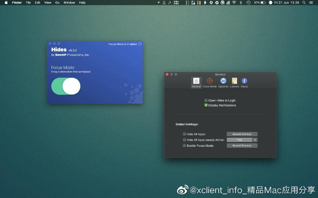 Hides 5.5.2 一键隐藏所有应用窗口