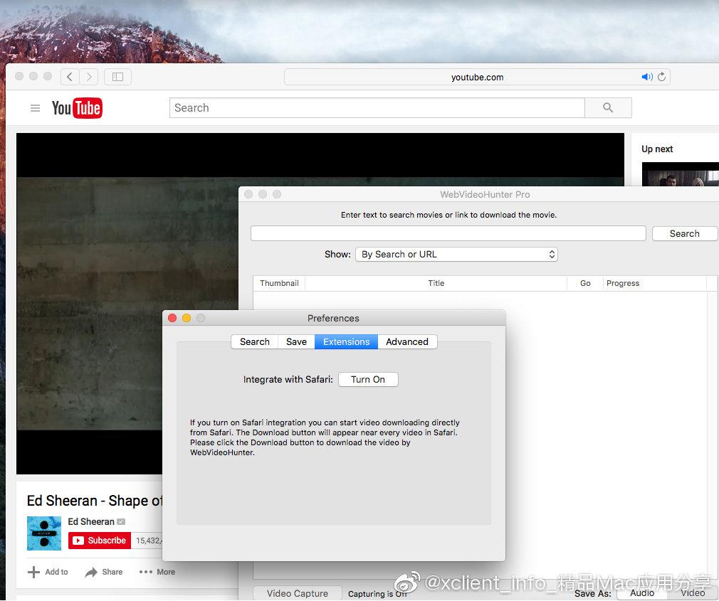 WebVideoHunter Pro 6.1.9 网络视频下载