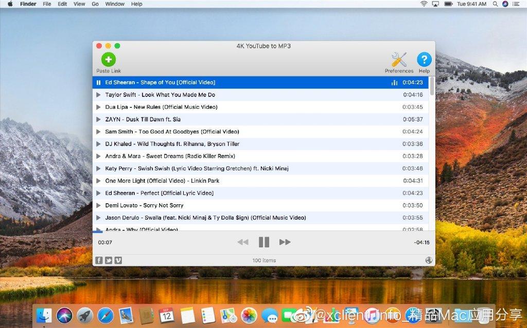 4K YouTube to MP3 4.0.0 在线视频提取音乐